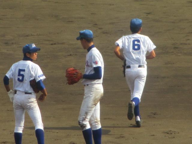 北信越高校野球石川県大会 三回戦 航空vs市工 256