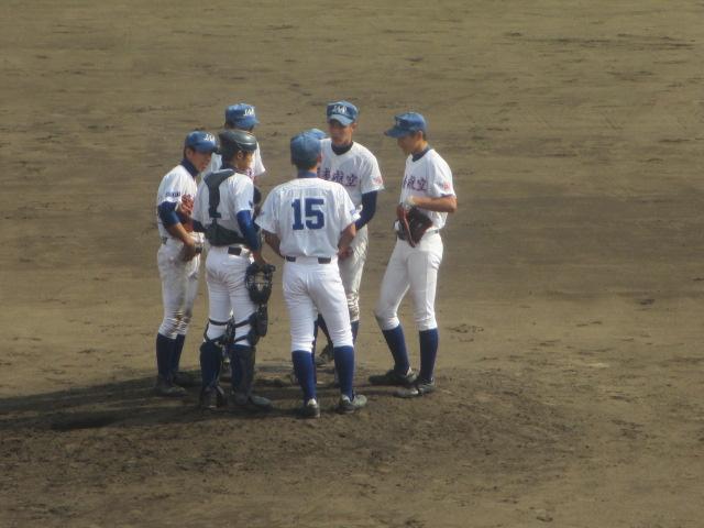 北信越高校野球石川県大会 三回戦 航空vs市工 255