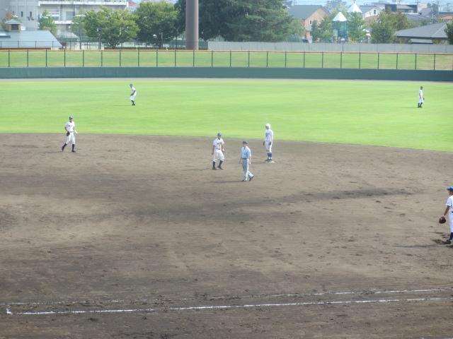 北信越高校野球石川県大会 三回戦 航空vs市工 254