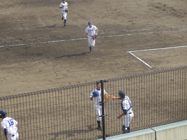 北信越高校野球石川県大会 三回戦 航空vs市工 269