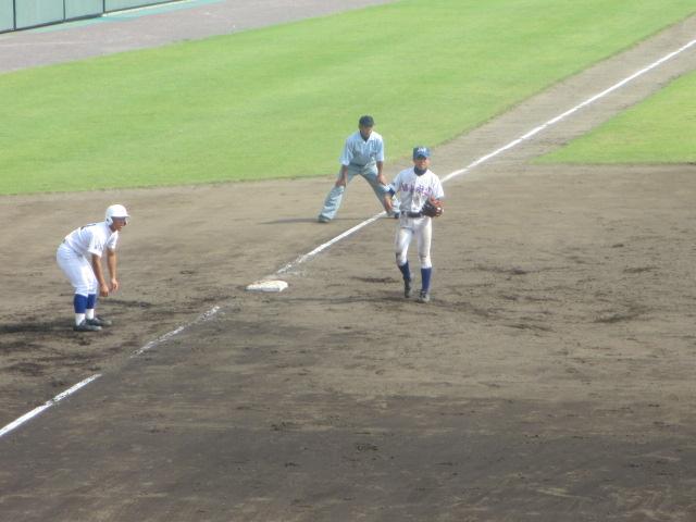 北信越高校野球石川県大会 三回戦 航空vs市工 266
