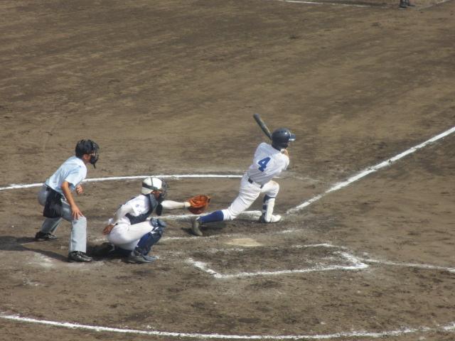 北信越高校野球石川県大会 三回戦 航空vs市工 275