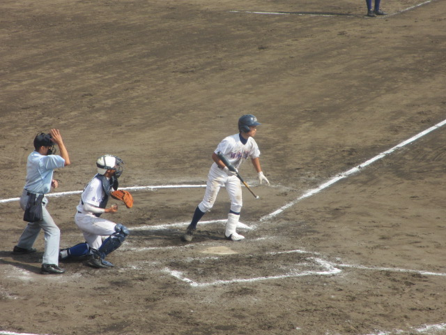 北信越高校野球石川県大会 三回戦 航空vs市工 274
