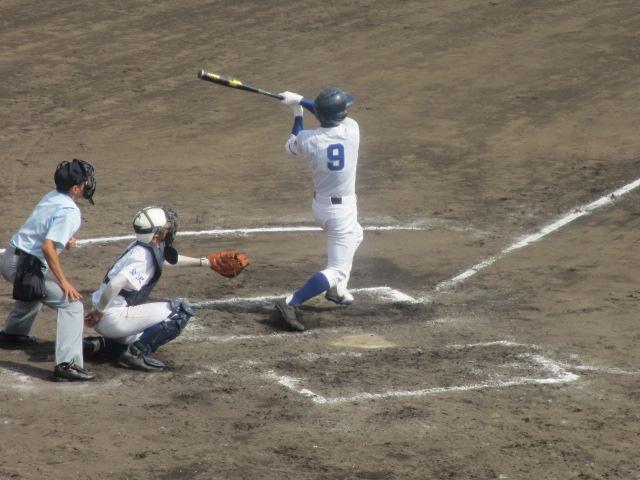 北信越高校野球石川県大会 三回戦 航空vs市工 279