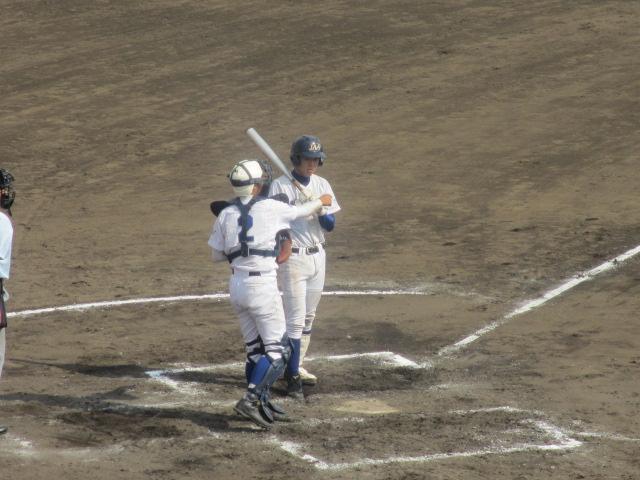 北信越高校野球石川県大会 三回戦 航空vs市工 282