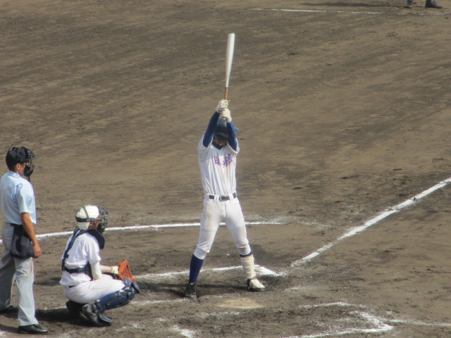 北信越高校野球石川県大会 三回戦 航空vs市工 281