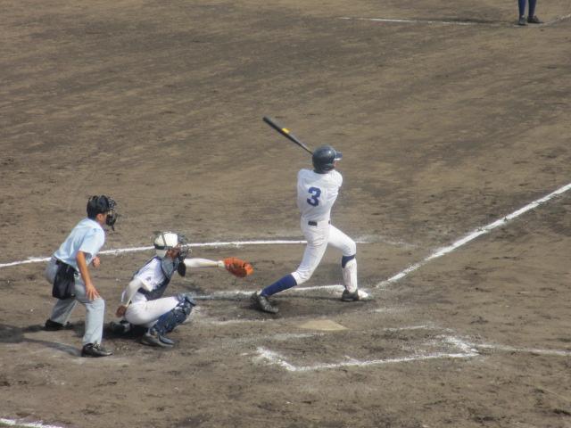 北信越高校野球石川県大会 三回戦 航空vs市工 289