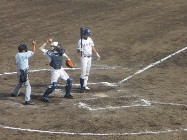 北信越高校野球石川県大会 三回戦 航空vs市工 288