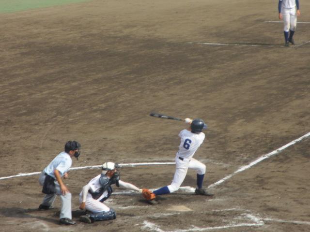 北信越高校野球石川県大会 三回戦 航空vs市工 294