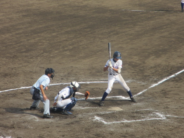 北信越高校野球石川県大会 三回戦 航空vs市工 293
