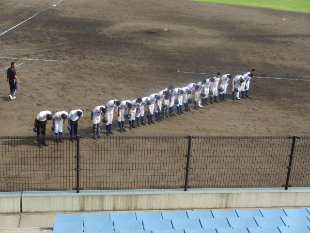 北信越高校野球石川県大会 三回戦 航空vs市工 303