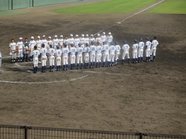 北信越高校野球石川県大会 三回戦 航空vs市工 301