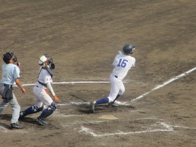 北信越高校野球石川県大会 三回戦 航空vs市工 300