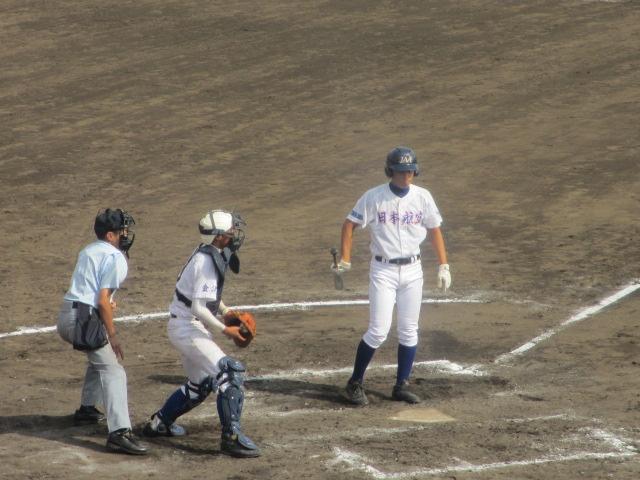 北信越高校野球石川県大会 三回戦 航空vs市工 299