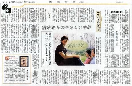 東京新聞(13年10月16日)