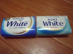 モラタメ 花王石鹸ホワイト 新旧