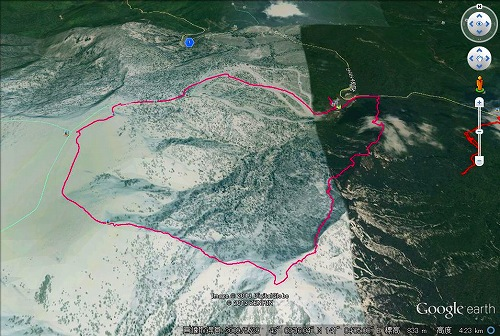 20130525長伯稜~白井岳~朝里岳~国際スキー場・周遊