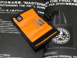 mastermind カモフラージュキーケース