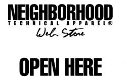 NEIGHBORHOOD WEB STORE