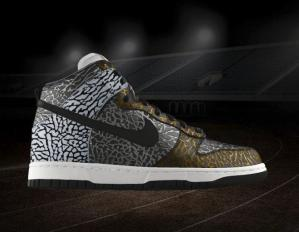 NIKE Dunk High Premium iD elephant
