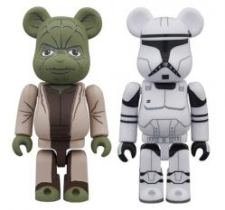 YODA(EP2) & CLONE TROOPER(EP2) BE@RBRICK 2PACK