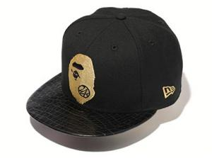 4karats A BATHING APE ニューエラ