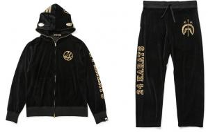 A BATHING APE × 24karats