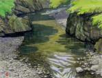 日原川の淵