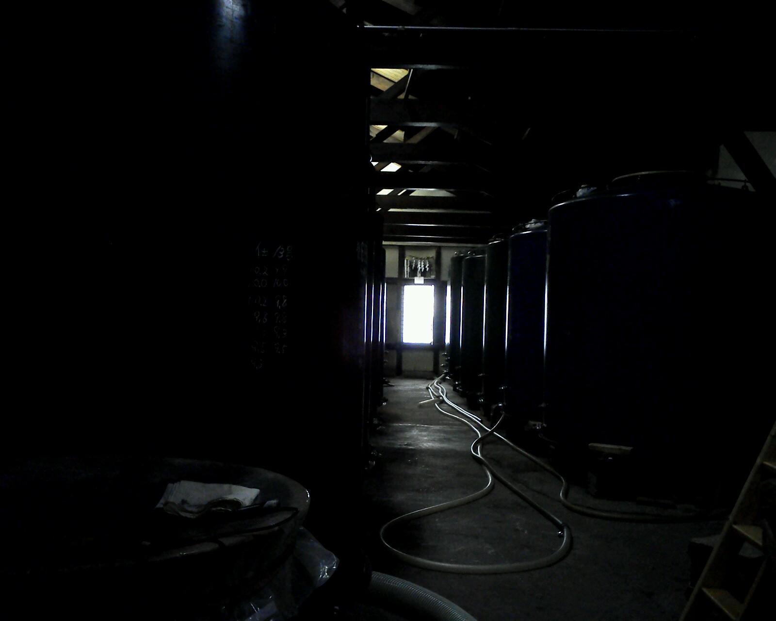 じょうそうまえのタンク室