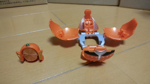 オレンジパーツ