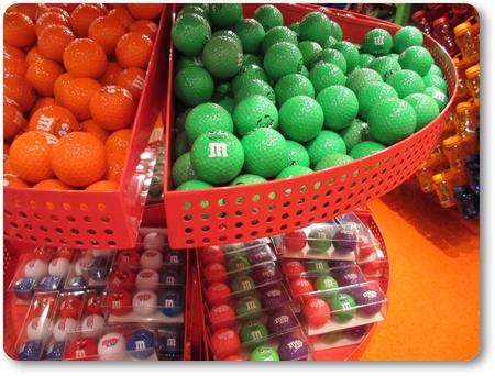 M&M'sゴルフボール,エムアンドエムズのゴルフボール