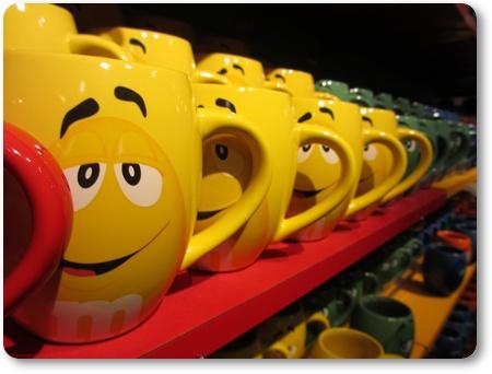M&M'sマグカップ,エムアンドエムズマグカップ
