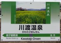 桜花見2013川渡温泉5川渡温泉駅
