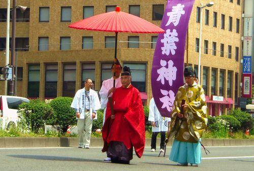 仙台青葉まつり2013~8青葉神社宮司