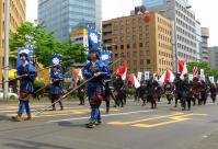 仙台青葉まつり2013~9長槍大弓隊