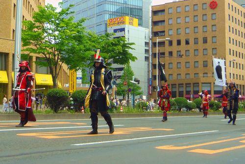 仙台青葉まつり2013~15片倉真田