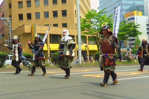 仙台青葉まつり2013~17上杉武将隊