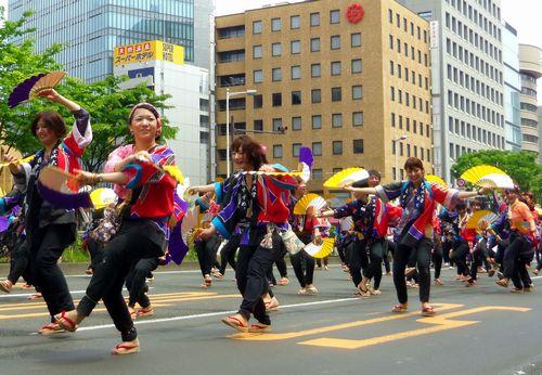 仙台青葉まつり2013~19すずめ踊り