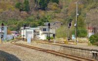 釜石駅12構内