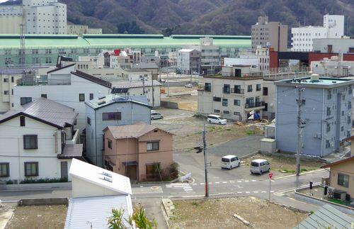 釜石被災状況3大町周辺