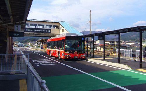 三鉄JR盛駅7JR大船渡線BRTホーム