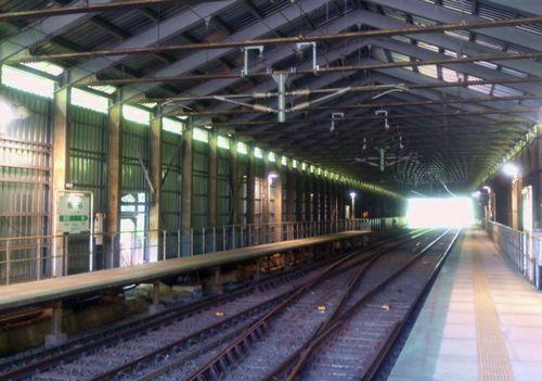 奥羽本線板谷駅4ホーム
