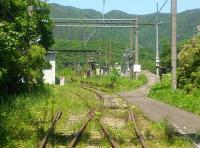 奥羽本線板谷駅8旧駅跡