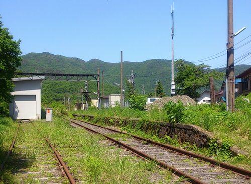 奥羽本線板谷駅9旧駅跡
