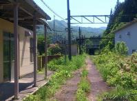 奥羽本線板谷駅10旧駅跡