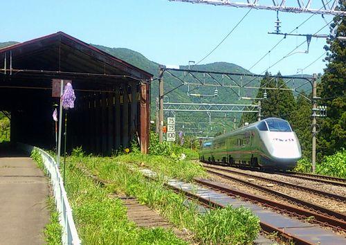 奥羽本線板谷駅16山形新幹線つばさ