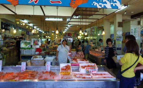 寺泊7魚の市場通り
