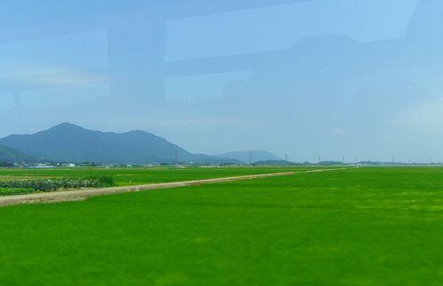 寺泊11弥彦山と田園