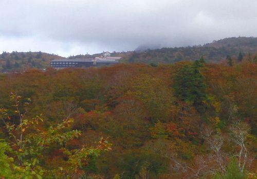 須川温泉栗駒山荘1遠景