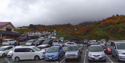 須川温泉栗駒山荘13駐車場